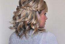 Penteados / Vai a uma festa de aniversário, noivado ou casamento? Inspire-se nas nossas ideias de penteados!