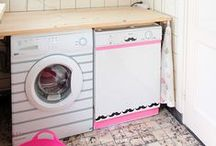 Lavanderia / Decore a sua lavanderia com estilo!