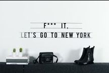 i love new york / my home for a short while...the only place i have ever felt home...