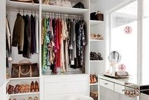 Closet / Dicas e inspirações de decoração e organização para closets e guarda-roupas!