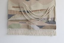 weaving art / wall hangings finds and techniques