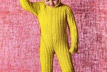 Strikking til barn  / Knitted stuff for children