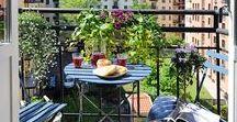 Sacadas e Varandas / Inspirações para deixar a sua varanda e o seu jardim ainda mais bonitos e convidativos!