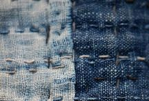 sashiko, boro and visible mending / sashiko stitch and visible mending for everyday and as an art
