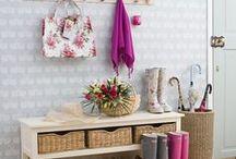 Hall de Entrada / Inspirações para a decoração do hall de entrada da sua casa!