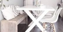 Sala de Jantar / Inspirações para a decoração da sua sala de jantar!