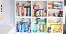 Estantes / Elas são capazes de dar um charme especial para qualquer cômodo da casa, sejam como estantes de livros ou acomodando objetos de decoração ou de coleções!