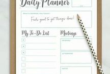Goal Setting / Goal Setting, Daily Planner, Personal Development, Stay Organized, Organizing Tips, Planning Tips, Daily Planning, Daily Actions, Three Month Goals