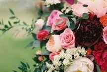 {Glam Kate Spade Wedding.}