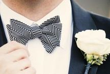 Dapper Gents / Help your groom {and his boys} define their wedding style.