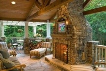 Porches/Pergolas / No better way to enjoy the world in passing then watching it from the comfort of a cozy porch.  / by Ang