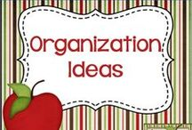 Organization Ideas / Organization Ideas & tips