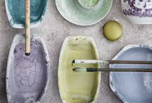 Colours / Color inspiration for your home! Beautiful outspoken colors but also great naturals and color accents.