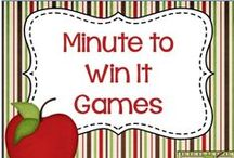 Minute to Win It Games / Minute to Win Games - resources and ideas