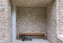 Stone Architecture  / Architecture Design using Stone Veneer