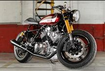 Two Wheels Power / Classics, vintage or modern bikes… How I wish to have at least one!