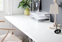 Workspace / Are favorites places to work because of the nice styling of workspaces.