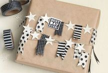 Party and gifts / Also so keen on decorating your home, wrapping your gifts and hosting your diners? We love it!