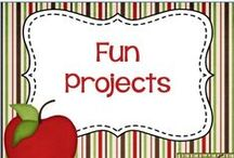 Fun Projects / Resources and ideas for fun projects to complete with your students or own children.
