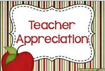 Teacher Appreciation / Teacher Appreciation Ideas - Gifts and more!