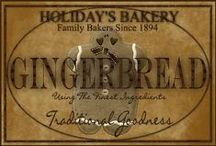 Gingerbread Christlmas / by Judy Pate