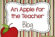 An Apple For The Teacher / Hi, my name is Kelly. I'm a 4th grade teacher and mother of 6 boys. Here are some of the best blog posts from my blog, http://applefortheteach.blogspot.com/. Lesson plan ideas, freebies, differentiating strategies, classroom management, organization, and more!