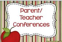 Parent/Teacher Conferences / Parent Teacher Conferences Resources & Ideas