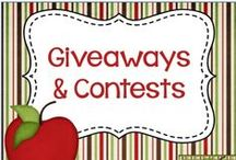 Giveaways and Contests / Find Great Giveaways and Contests for Teachers!