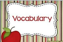Vocabulary / Resources and ideas for teaching vocabulary