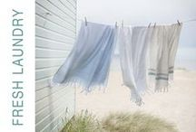 ♥ FRESH LAUNDRY / I believe in the smell of fresh laundry. It reminds me of home and family. This smell keeps me in touch with where I come from, no matter how far away I am.