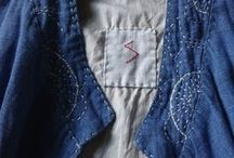 mend : dye / visible stitching, mending, darning, natural dying techniques and inspiration
