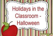 Holidays in the Classroom - Halloween / Looking for teaching ideas and resources for Halloween? Here you'll find holiday activities and other timely teaching resources for grades 2 through 6, and most of them are absolutely free!