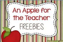 Kelly Malloy's Freebies / Kelly Malloy's Freebies from TeachersPayTeachers.com and her blog An Apple for the Teacher. Free lesson plans, math games, writing lessons, and more!