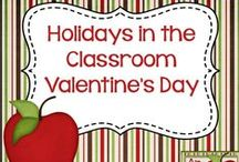 Holidays in the Classroom - Valentines Day / Resources and ideas for celebrating Valentine's Day in the classroom