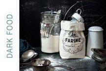 ♥ DARK FOOD PHOTOGRAPHY