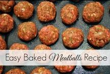Meatballs / all kinds of meatballs / by Judy Pate
