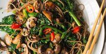 Veggie foods / Vegan/vegetarian recipes