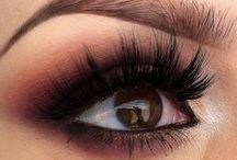 MakeUp / hair, eye shadows, lipsticks, gloss, body makeup, eyeliner pencils, ... / by Silvia