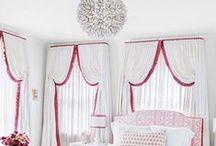 Design Details: Classics Drapery Styles - Now / Taking a hint from some of the more traditional styles and shapes in window treatments doesn't have to be old fashioned or outdated. These takes on Valances, Pelmets and Cornices can make a big WOW factor to any ordinary drapery.