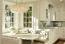Design: The Kitchen / The details needed to create a functional and fantastic kitchen design are what inspire me. It is where we all seem to spend most of our time, whether as a family, or when friends are over .. everyone always hangs out in the kitchen! The central HUB for any home.