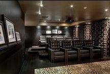 Design: Home Theaters / Designing a home theater or large family room can be a reason to really think out of the box, and with the rapid evolution of Sound & Image really anything is possible to create the most amazing experience.