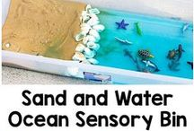 Sensory Summer Activities / Arts, crafts, games and other activities for children with autism, Asperger's Syndrome, and Sensory Processing Disorder