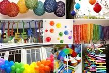 KIDS PARTIES: RAINBOW / A fun and colourful theme for any age