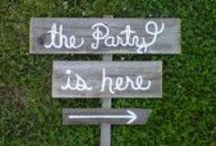 Party ideas / by Stacey Felberg Sullivan