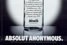 Ads | Absolutely Absolut / #Absolut #Vodka #Advertising #Absolut #Cities #Creativity #Bottle #Drinks #Alcohol