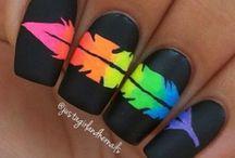 Nail inspo / Nail art and colour inspiration