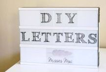 DIY: INSPIRATION / DIY Inspiration! Things I want to make in the near future