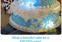 Frozen-themed party / Spectacular ideas for a child's party based around Disney's Frozen.
