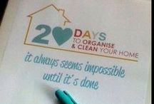 20 DAY CHALLENGE / Recently I completed the 20 Days to Organise and Clean Your Home Challenge with The Organised Housewife . This album contains photos of my before and after photos - more details on the blog.