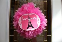 KIDS PARTIES: PARIS / Paris theme birthday party!
